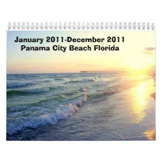 January 2011-December 2011 Panama City Beach Pics Calendar