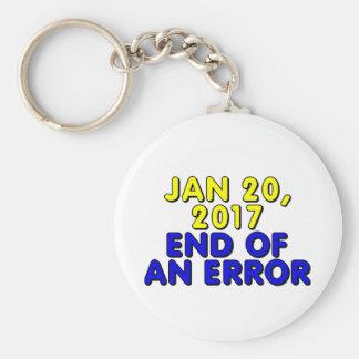 January 20, 2017: End of an error Keychain