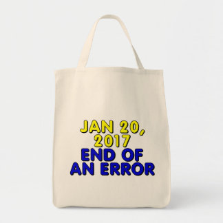 January 20, 2017: End of an error Tote Bag