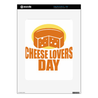January 20th - Cheese Lovers Day iPad Decal