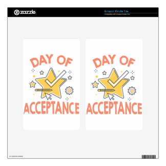January 20th - Day of Acceptance Kindle Fire Skin