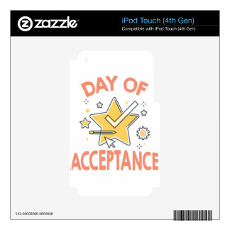 January 20th - Day of Acceptance Skins For iPod Touch 4G