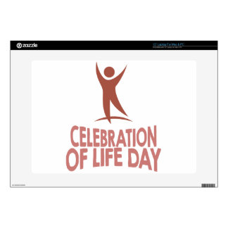 "January 22nd - Celebration Of Life Day Skins For 15"" Laptops"
