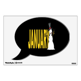 January 5 room decal
