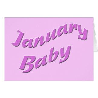 january baby 3 card