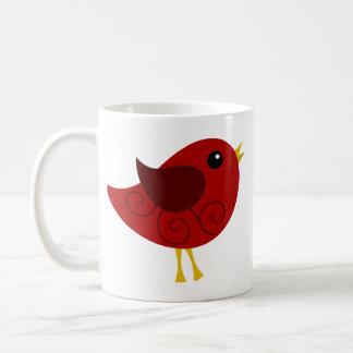 January Birthstone Bird Coffee Mugs