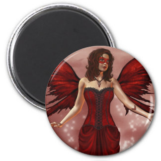 January Birthstone Fairy Magnet