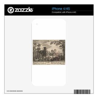 January by Esaias van de Velde Decals For iPhone 4S