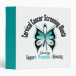January Cervical Cancer Screening Month Binder