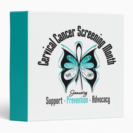 January Cervical Cancer Screening Month Binder