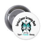 January Cervical Cancer Screening Month Pins