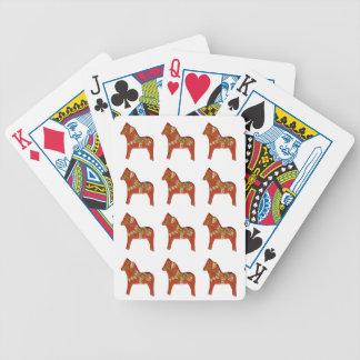 January Dala Horse Playing Cards