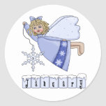 January Fairy Sticker