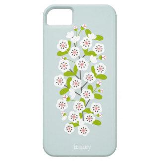 January Flower iPhone SE/5/5s Case