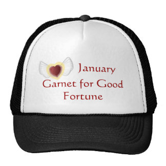 January Good Fortune Cap Trucker Hat