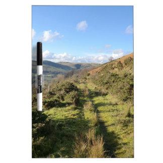 January Hillside Walk in Wales Dry-Erase Whiteboards