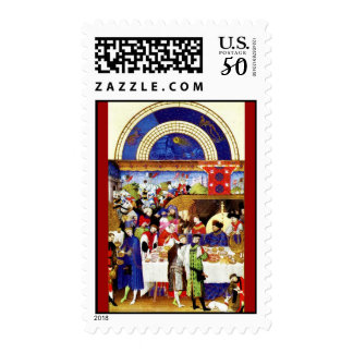 January - Les Tres Riches Heures du Duc de Berry Postage