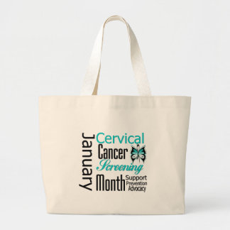January National Cervical Cancer Screening Month Bags