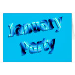 january party cards