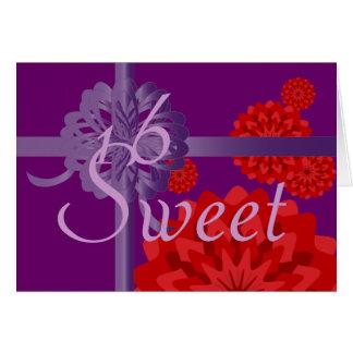 January Sweet Sixteen  Invitation-Customize Cards