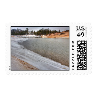 January Thaw Postage Stamps