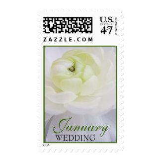 January Wedding Postage