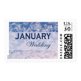 January Wedding stamps