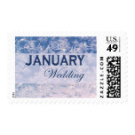 January Wedding stamps