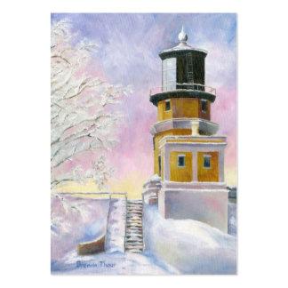 January's Light Art Card Large Business Card