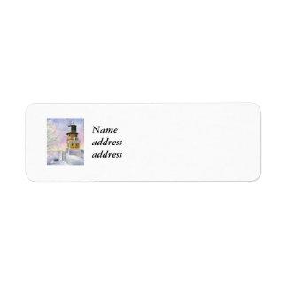 Januarys Light, Nameaddress address Label