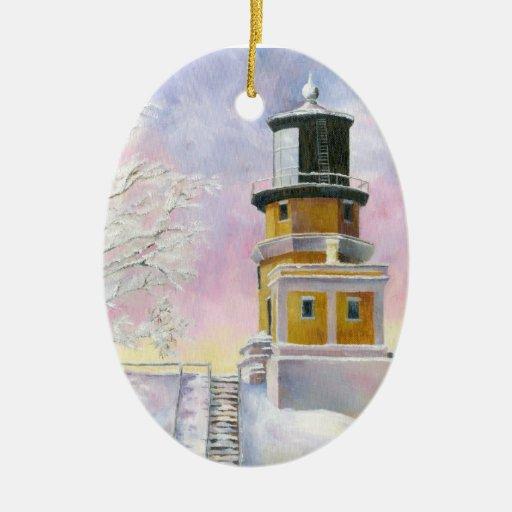 January's Light Ornament