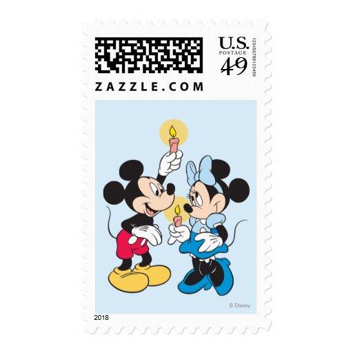 Jánuca feliz Mickey y amigos Sellos