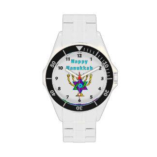 Jánuca feliz reloj