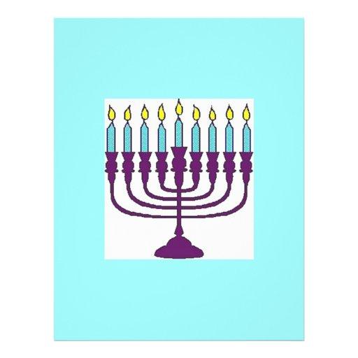 Jánuca feliz Shalom Tarjeta Publicitaria