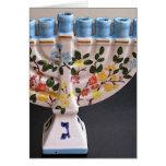 Jánuca feliz - tarjeta vertical
