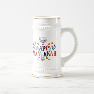 Jánuca feliz tazas