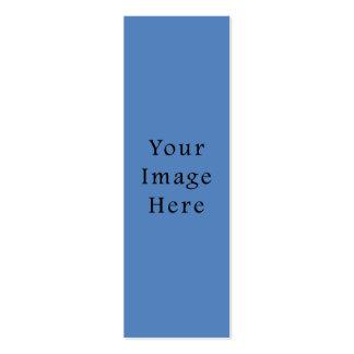 Jánuca medio azul silenciado Chanukah Hanukah Tarjetas De Visita Mini