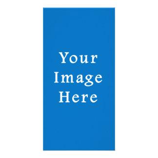 Jánuca medio azul silenciado ligero Chanukah Hanuk Tarjeta Fotografica Personalizada