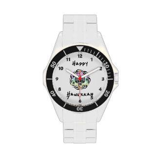 Jánuca Menorah Reloj De Mano
