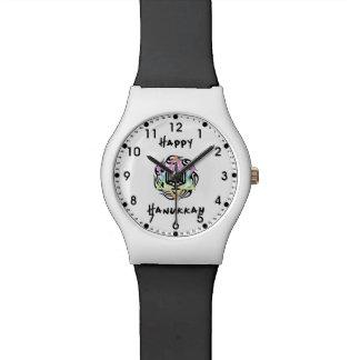 Jánuca Menorah Relojes De Mano