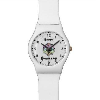 Jánuca Menorah Reloj