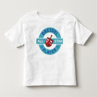 Jánuca toda la camiseta de la Estrella-Dreidel Playeras
