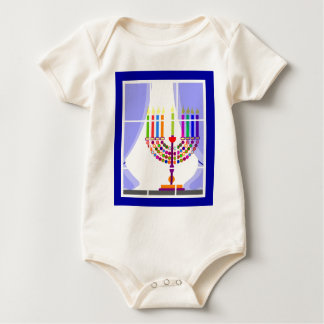 janucas niños ventana2014.png baby bodysuit