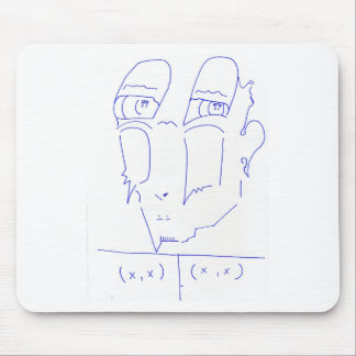 Janus in Tuplet Mouse Pad