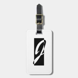 Janusian Gallery Logo Luggage Tag