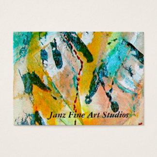 Janz Fine Art Studios Business Card