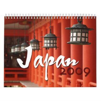 Japan 2009 wall calendar