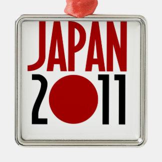 Japan 2011 metal ornament