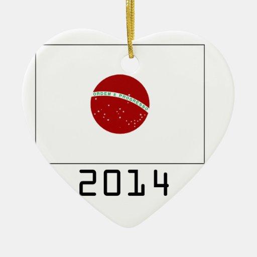 japan 2014 adorno de cerámica en forma de corazón
