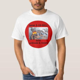 Japan 3-11-2011 Earthquake_T-Shirts Tee Shirt